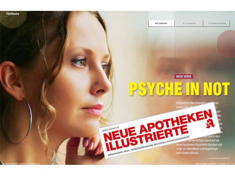 Neue Apotheken Illustrierte: Psyche in Not: Depressionen