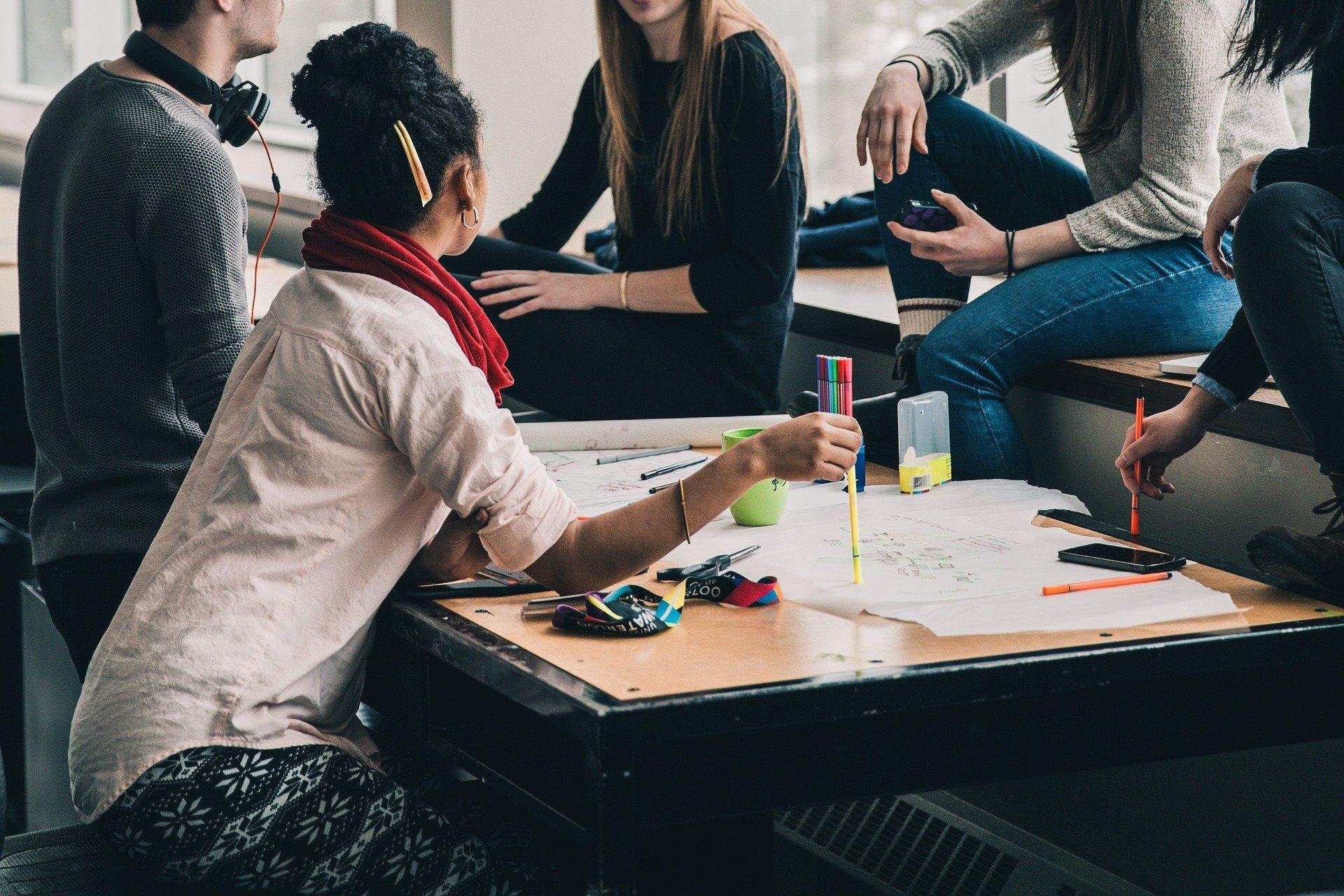 Vielfalt Bemühungen Laufwerk Anstieg der weiblichen und der Minderheiten, medizinische Schule Schüler