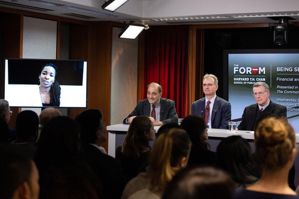 Auch unter den versicherten, die Kosten der Krankheit können verheerend sein, Harvard-backed-Umfrage findet