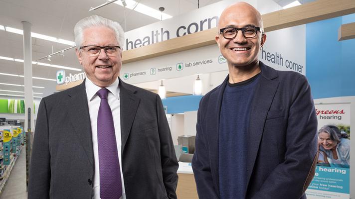 Walgreens, Microsoft partner für neue cloud-basierte consumer-health-intitiative