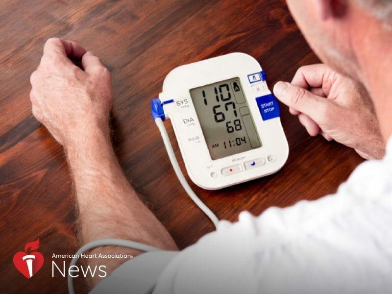 Schwankender Blutdruck nach einem Schlaganfall könnte bedeuten höheres Risiko des Todes