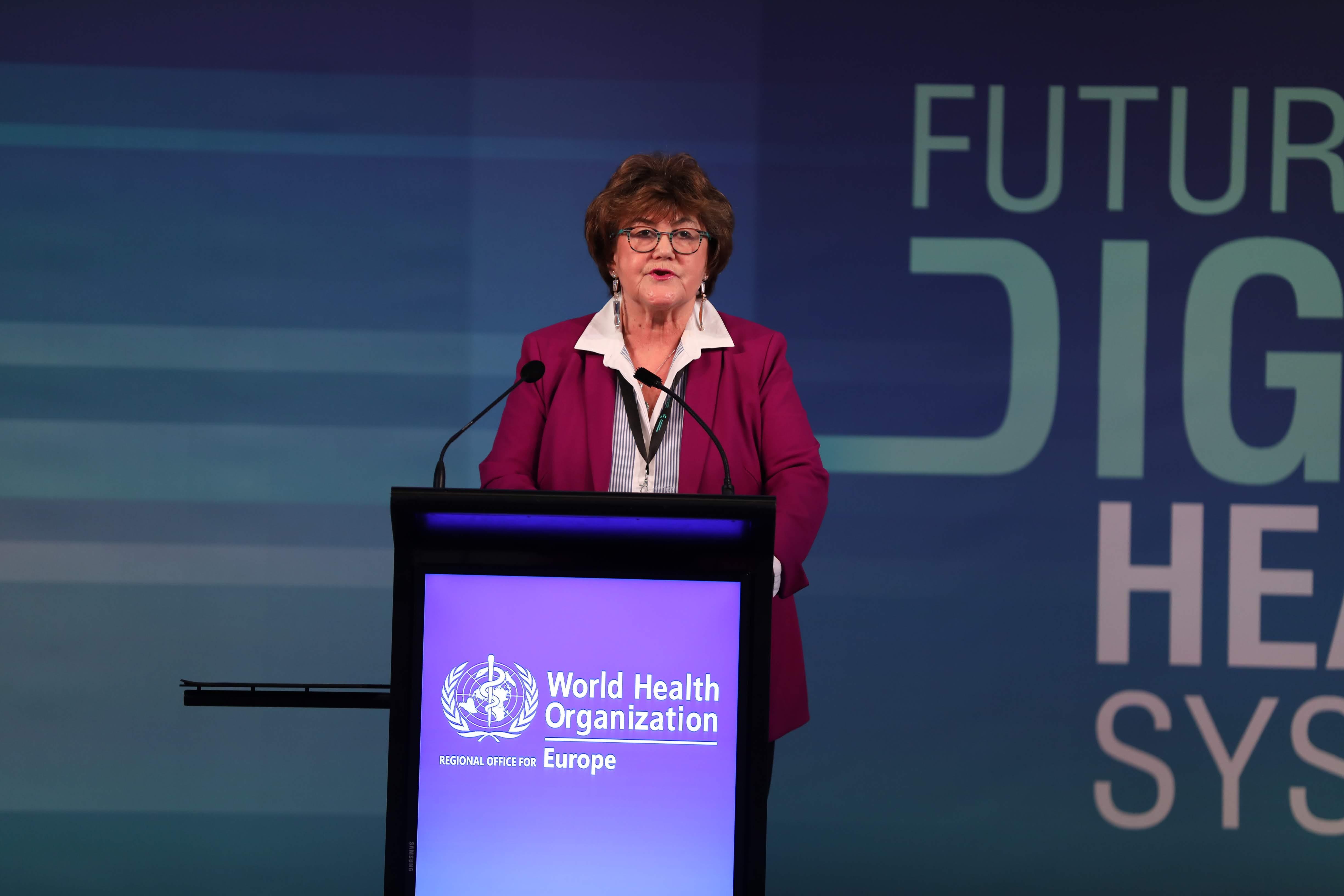 Spannung und potential sind eine Sache, Beweise und Umsetzung sind andere, warnt die WHO-Regionaldirektorin