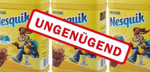 Beliebter Nesquik Kakao getestet und komplett durchgefallen – Selbst vor Organschäden wird gewarnt!