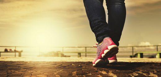 Briten Risiko ungesunder lebensstil als die Hälfte der Bevölkerung zu Fuß weniger als eine Stunde pro Tag