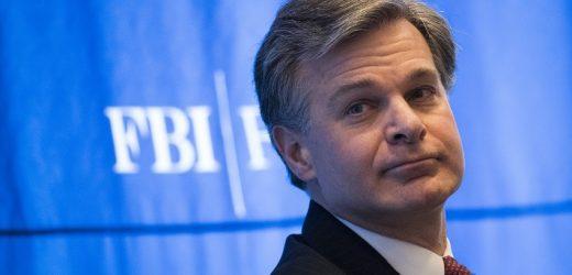 """FBI-Direktor Christopher Wray: """"die Heutigen Cyber-Bedrohung größer ist als die Regierung selbst'"""