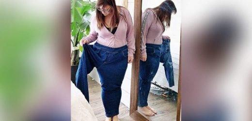 Treffen Sie die Frau, Die Ging Von einer Größe von 24-12 in Weniger Als einem Jahr