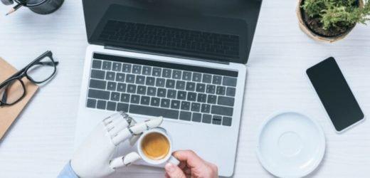 Durchbruch Implantat bringt Geschicklichkeit und Tastsinn prothetische hand