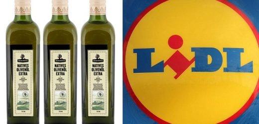 Öko-Test: Lidl-Olivenöl fällt im Test wegen Mineralölrückständen durch!