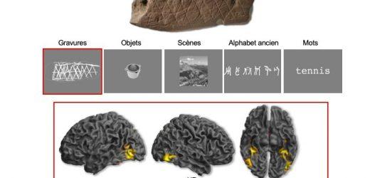 Neurowissenschaften entsperren das Geheimnis der ersten abstrakten Gravuren