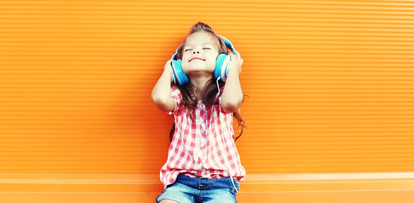 Unser Gehirn-computer-Schnittstellen-Technologie verwendet Musik, um Leute glücklich zu machen