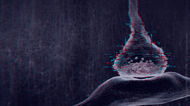 Gehirn findet, um inmitten des chaos