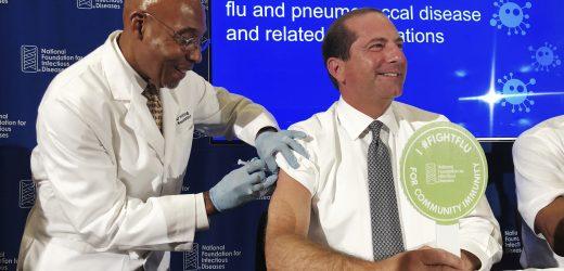 Gesundheit Beamten: Es ist Zeit zu geben Grippe-Impfstoff ein weiterer Schuss