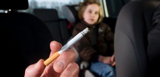 Länder fordern Rauchverbot in Autos