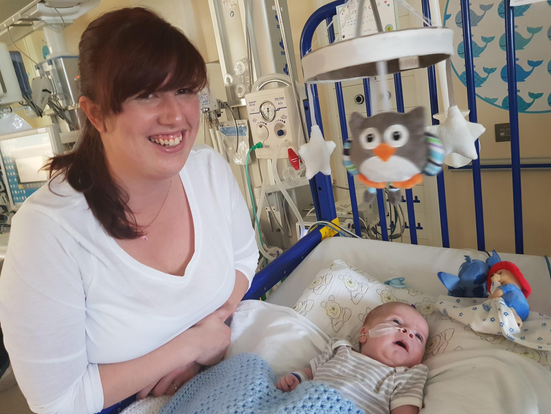 Studie, in Haut-Sammlung von Babys Blut Chemie ersetzen will, invasive Probenahme