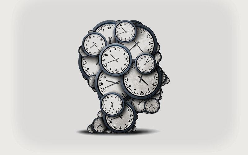 Internen brain-Timer verknüpft mit motivation und Verhalten