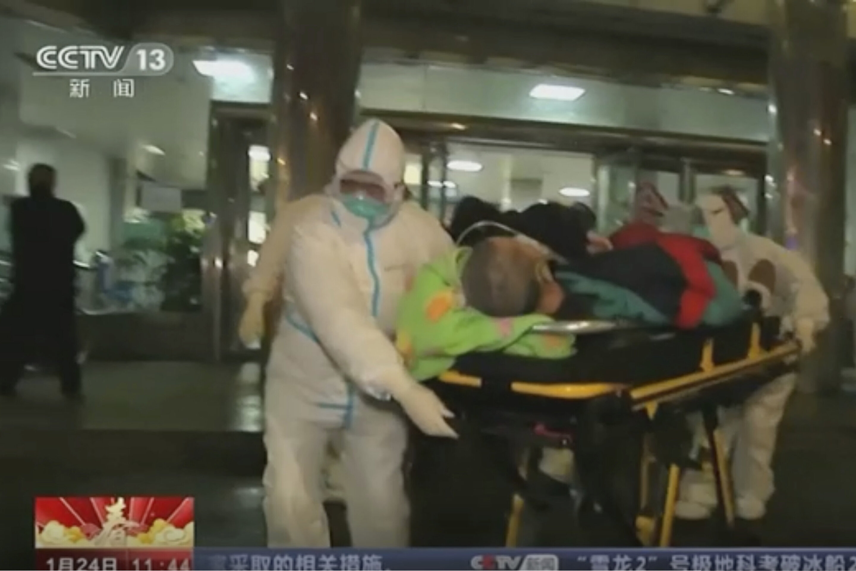 China erweitert lockdown gegen virus -, schnell-tracks Krankenhaus