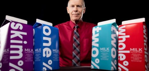 Trinken Sie 1% statt 2% Milch-Konten für 4,5 Jahre weniger Altern bei Erwachsenen