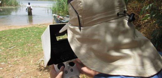 Identifizierung von Wasserpflanzen mit den Drohnen könnte der Schlüssel zur Verringerung einer parasitären Infektion in den Leuten