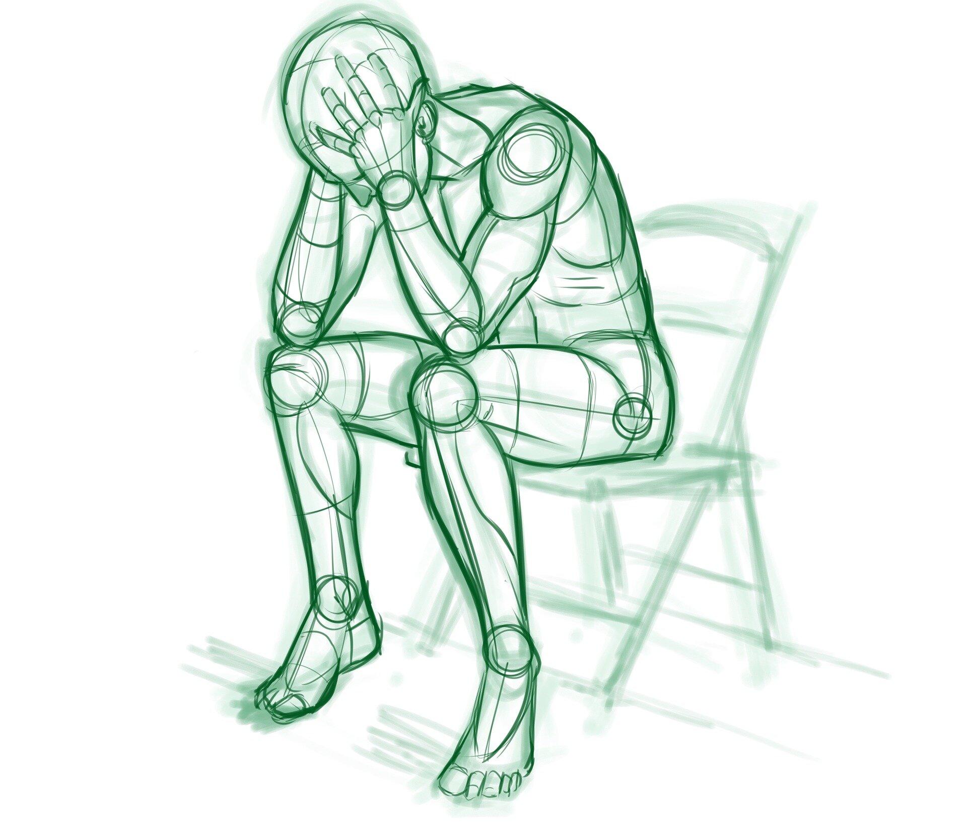 Zeit der Entscheidung Vorhersagen, das Risiko von Depressionen, Rückfall