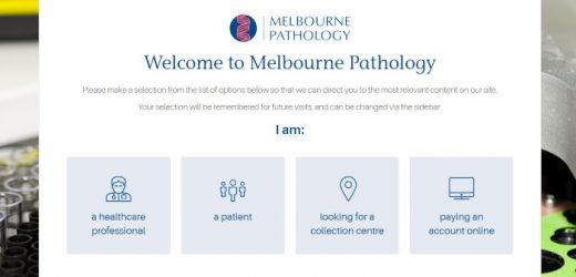 Melbourne Pathologie beginnt uploads von berichten für Meine Gesundheit Aufzeichnung