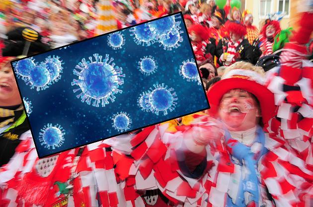 Grippe grassiert in Deutschland – So schützt du dich an Karneval vor einer Infektion
