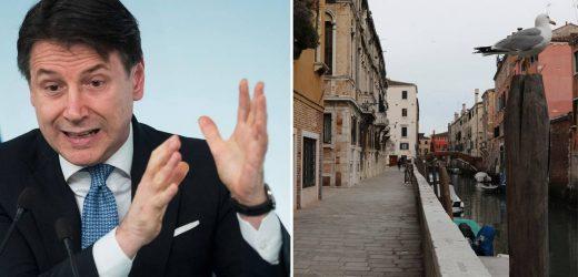 Contes Botschaft an die Italiener: Bleibt endlich zuhause