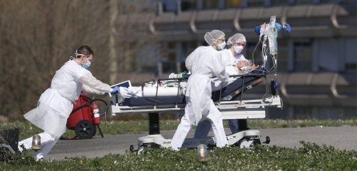 Solidarität: Ausländischen Kliniken Hilfe Französisch virus hotspot bewältigen