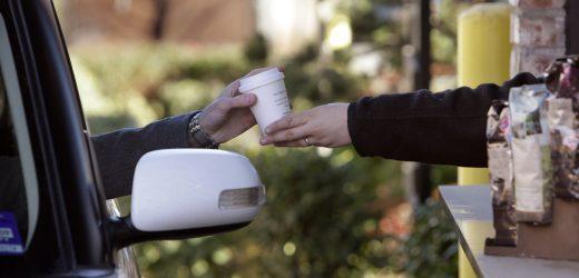 Starbucks-Filialen gehen können, drive-thru oder nur wegabhängiger Abschaltung