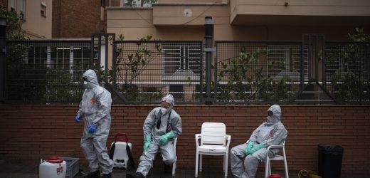 Virus-tote in Pflegeheimen sind oft seine ungezählten Opfer
