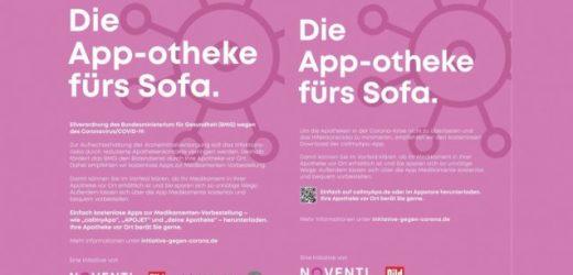 Noventi wirbt auch für konkurrierende Vorbestell-Apps