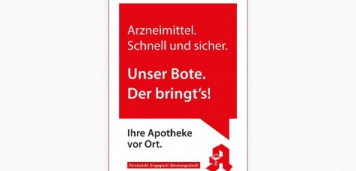 Apotheker werben in BILD-Zeitung für Botendienste und das E-Rezept