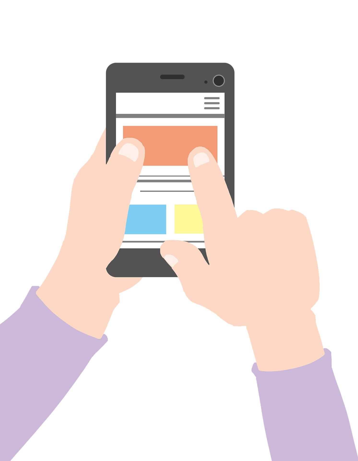 """Neue app ärzte """" Leitfaden für die zuverlässigste COVID-19 Informationen"""