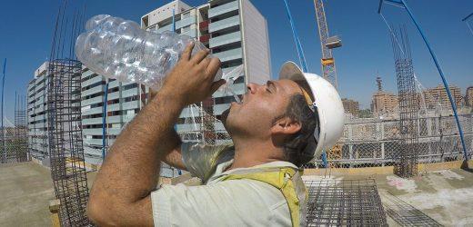 Arbeiten in der Sonne—Erwärmung der Leiter kann deutlich Einfluss auf die Sicherheit und die performance