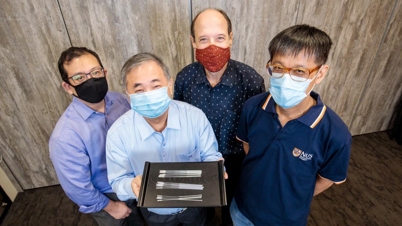 Forscher entwickeln neuartige COVID-19-Tupfer zur globalen und lokalen Mangel