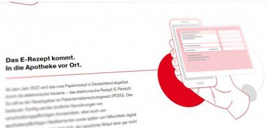 Neue ABDA-Webseite erklärt das E-Rezept
