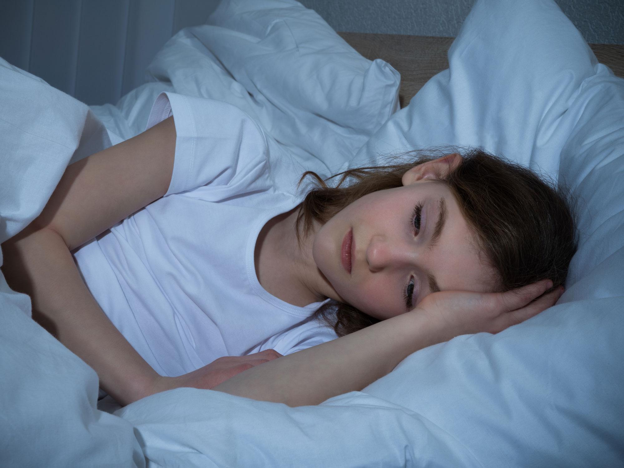 Schlafstörungen beeinträchtigen das Wohlbefinden vieler Kinder