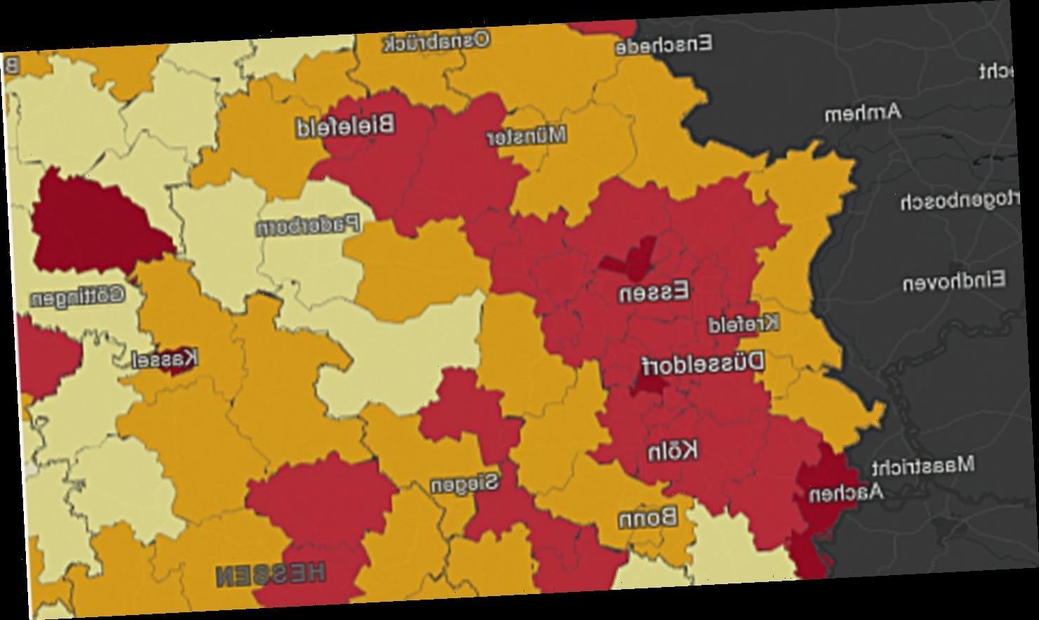 RKI stuft gesamtes Ruhrgebiet als Risikogebiet ein