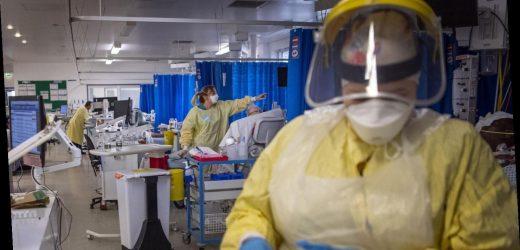 Britische Kliniken wegen Corona zunehmend unter Druck