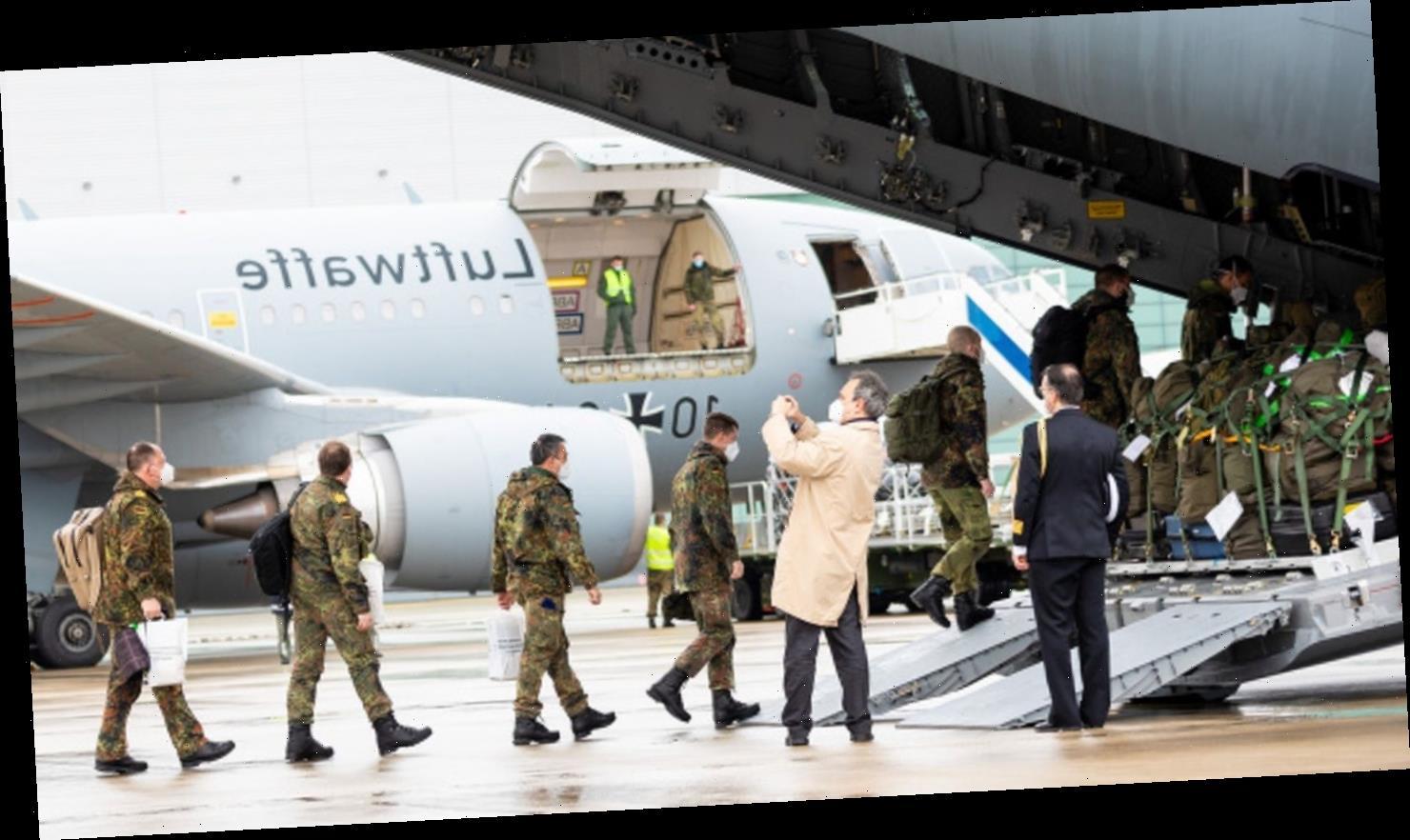 """""""Zeichen für die europäische Solidarität"""" – Bundeswehr zu Corona-Hilfe nach Portugal gestartet"""