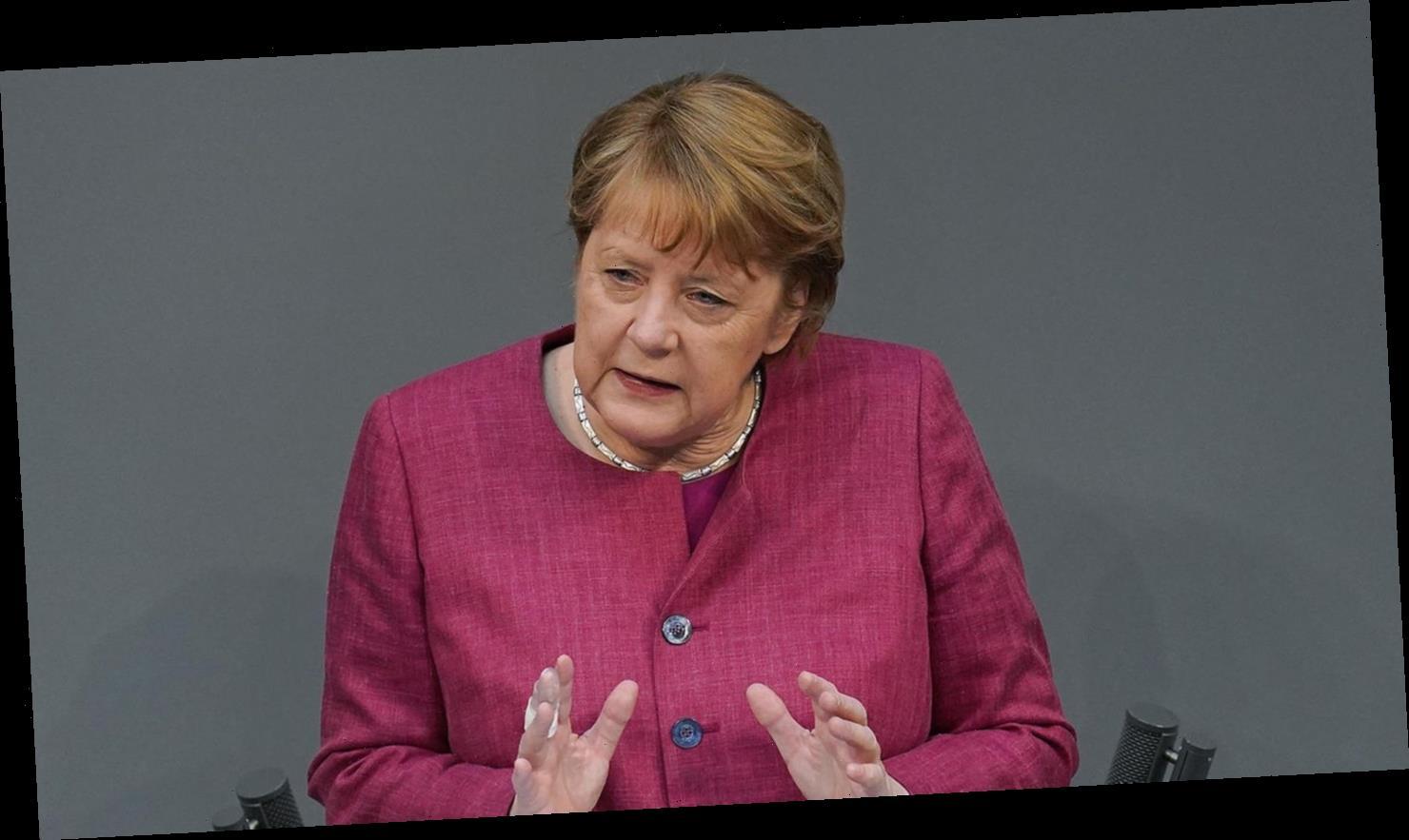 """""""Das Virus verzeiht kein Zögern"""": Merkel richtet flammenden Appell an den Bundestag"""