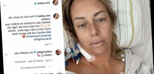 Gebärmutterhalskrebs bei Influencerin Julia Holz: Spanische Ärzte entnahmen die falschen Lymphknoten